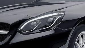 led intelligent light system mercedes slc class technology mercedes benz abu dhabi