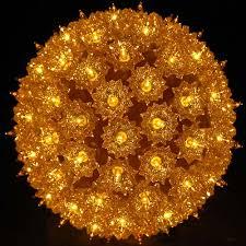 gold starlight spheres and light balls novelty lights inc