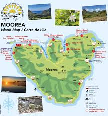 French Polynesia Map Moorea Tahiti French Polynesia Moorea Tourism