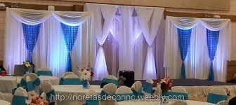 wedding backdrop on stage weddings events backdrop noretas decor inc