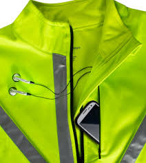 soft shell jacket cycling atd high visibility full zip softshell cycling jacket w 3m