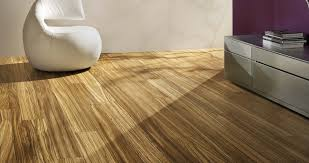best laminate wood flooring in living room with white leather