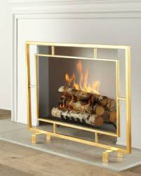 20 ways to contemporary fireplace screens