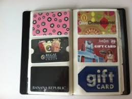 gift card book how to organize coupons gift cards