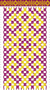 bracelet pattern images Normal friendship bracelet pattern 10189 gif