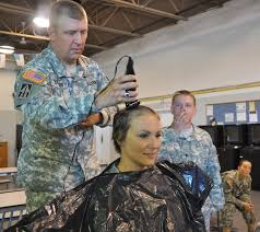 air force female hair standards defense gov news article face of defense soldier shaves head to