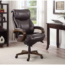brown leather executive desk chair la z boy tafford vino bonded leather executive office chair 45782