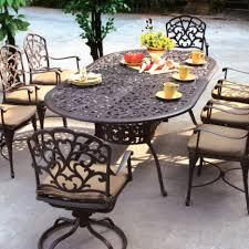 arlington house jackson oval patio dining table furniture oval patio table ravenna ovalrectangle and chair cover