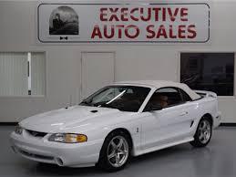 1998 ford mustang cobra for sale 1998 ford mustang svt cobra for sale carsforsale com
