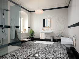Black Bathroom Floor Tiles Black And White Patterned Floor Tiles Home U2013 Tiles