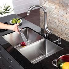 Kitchen Sink Basin by Stainless Steel Kitchen Sink Combination Kraususa Com