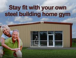 stay fit in your own home get fit in a metal building home gym build your own gym