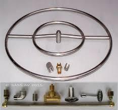 pit pan square lowes propane replacement parts gas burner Firepit Parts