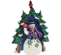 jim shore heartwood creek mini evergreen snowman figurines page