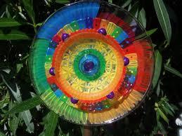 160 best glass flower garden art images on pinterest glass