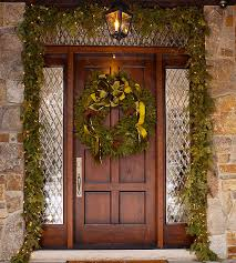 Elegant Christmas Door Decorations by Inside The Brick House Front Door Christmas And Some Winter