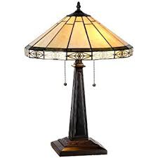 Arts And Crafts Desk Lamp Mission Arts And Crafts Tiffany Style Stained Glass Mini Accent