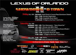 lexus used parts tampa fl showdown in otown ii oct 2013 orlando fl clublexus lexus