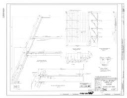 file original drawing mezzanine floor framing naval air