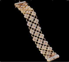 bracelet design diamond images Antique design diamond bracelets in vivekananda road tumkur jpg