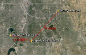 denver schools map gunman dead one other at arapahoe high near