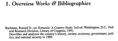 romanian national bibliography