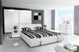 Schlafzimmer Komplett Schwebet Enschrank Schlafzimmer Novalis Ii Hochglanz Schwarz Weiß