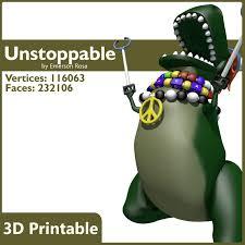 T Rex Unstoppable Meme - unstoppable obj