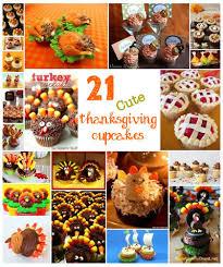 21 thanksgiving cupcakes