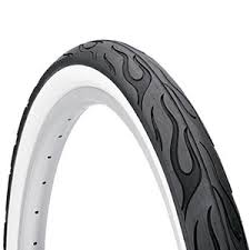 Double White Wall Motorcycle Tires 26