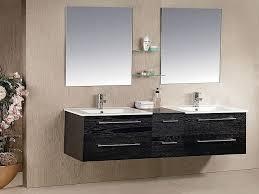 Hanging Bathroom Cabinet Alluring Black Hanging Bathroom Sink Cabinet Corner On