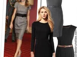 modele de robe de bureau tendance mode 10 petites robes noires et grises ultra chic pour