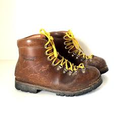 yukon s boots vintage asolo sport yukon mountaineering leather by oldtanery
