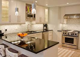 Small Kitchen With White Cabinets Kitchen Small Kitchens With White Cabinets Black And White