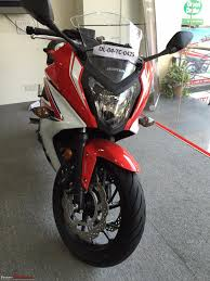 honda cbr bikes in india honda cbr 650f launched in india at rs 7 3 lakh page 7 team bhp