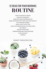 best 25 morning routines ideas on pinterest healthy morning