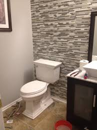 decor small space bathroom ideas with united tile design and