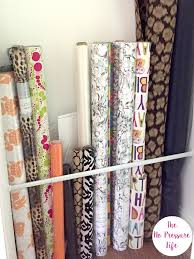 where to buy cheap wrapping paper wrapping paper storage ideas for small spaces 3 cheap methods