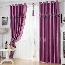 Custom Blackout Drapes Purple Elegant Luxury Insulated Custom Blackout Curtains