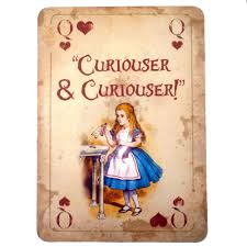Alice In Wonderland Home Decor Unique Than Ever Alice In Wonderland A4 Quote Vintage Playing Card Prop Mad Hatters