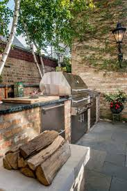 Brinkmann Backyard Kitchen by Best 25 Small Outdoor Kitchens Ideas On Pinterest Outdoor Grill
