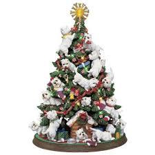 westie tree the danbury mint