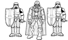 darth vader and storm troopers coloring pages coloring pages for