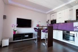 Purple Kitchen Backsplash Modern Kitchen Design Ideas With Bar Island Trend 2015 Glass