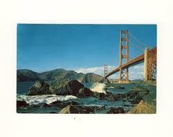 vintage golden gate bridge etsy