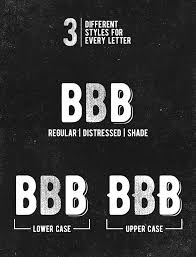 creative font design online bernier font free a vintage look bernier a free and comes with 3