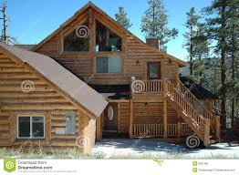 cabin style home log cabin style home stock image image of fall lodge 6031857