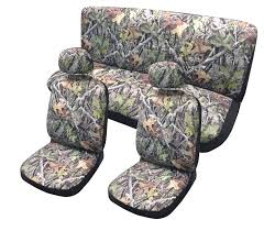 amazon com hawg camo surreal forest grey seat cover set front