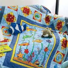 theme quilt sea pals theme kids quilt pattern designed by heidi