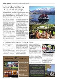 Convention Bureau Christchurch Canterbury Canterbury Today Magazine Issue 121 By Academy Issuu